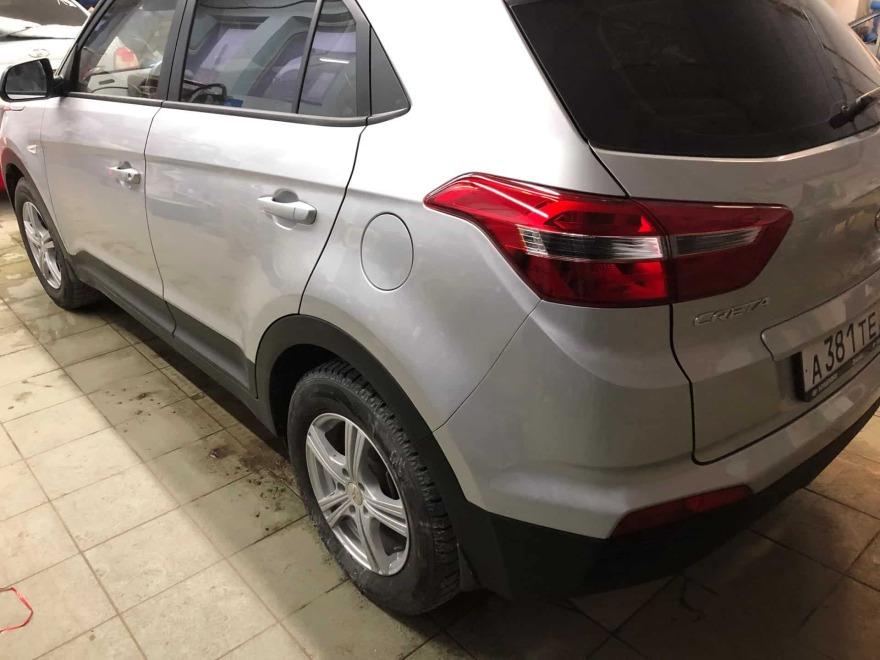 Кроссовер Hyundai Creta после кузовного ремонта фото