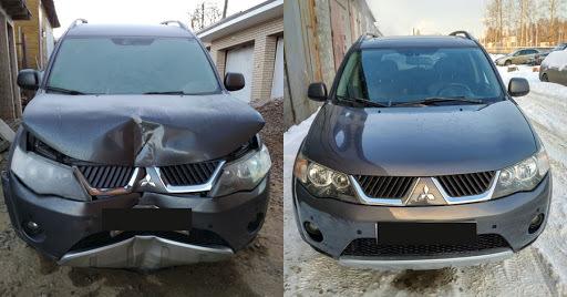 фото результат кузовного ремонта в иваново