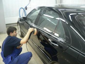 Фото процесса кузовного ремонта в Иваново
