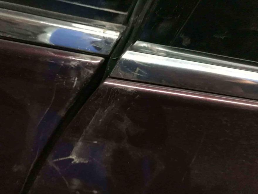 Nissan Teana жестяные работы фото Автосервис профи