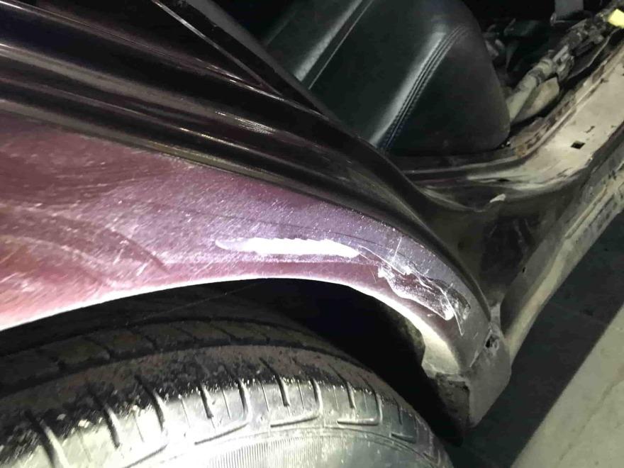 Фото Nissan Teana во время кузовного ремонта Автосервис Профи