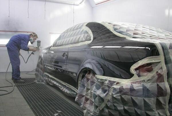 покраска автомобиля фото