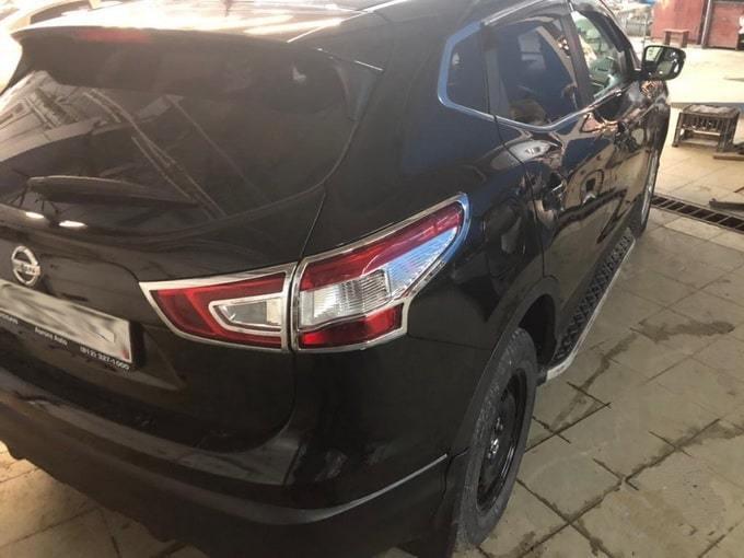 Nissan Qashqai фото сзади после восстановления кузова в АвтосервисПрофи