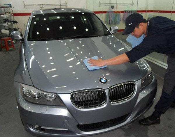 фото услуга покрытия авто жидким стеклом