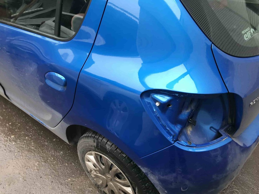 Renault жестяные работы фото Автосервис профи